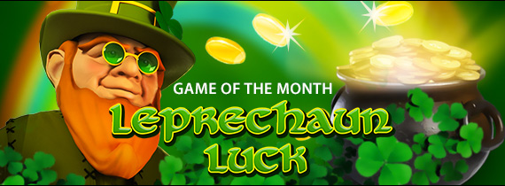 Leprechaun Luck is the Slotland special slot for Christmas!