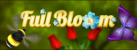 Slotland Game of the Month - Full Bloom!