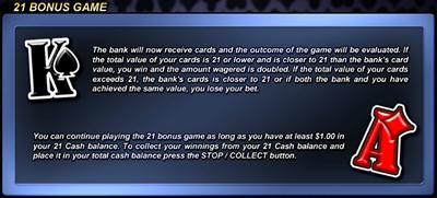21 Bonus Games