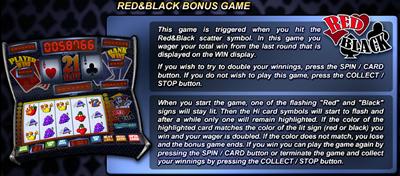 Red&Black Bonus Game