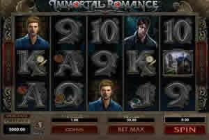 Immortal Romance Multi-line slot machine