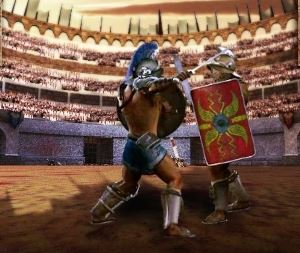 Slotlands Gladiator Games Video Slot