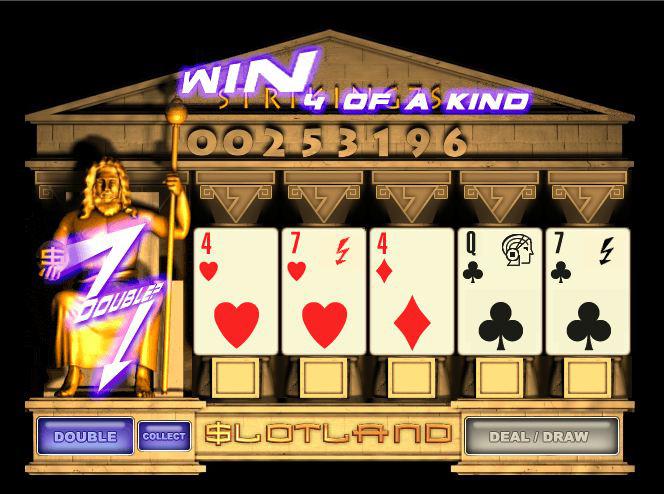 Striking Sevens Video Slot Machine