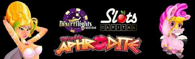 Mighty Aphrodite the Goddess of Love Video Slot