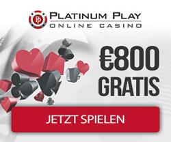 Platinum Play Casino - Gratis Spielautomaten spielen wollen