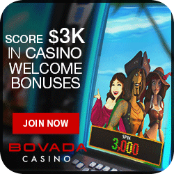 Bovada Casino is US Friendly. A trusted name in online gambling and casino slots!