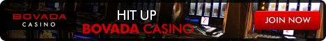 Bovada Casino has 3 reel slots as well as video slots