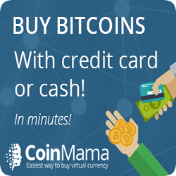 You can buy Crypto Currency through CoinMama!