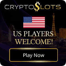 CryptoSlots is a Crypto Currency only casino. They have huge jackpots for you to play!
