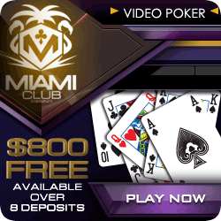 Play Slot tournaments at Miami Club Casino