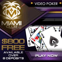 Play Slot tournaments at Miami Club Casino