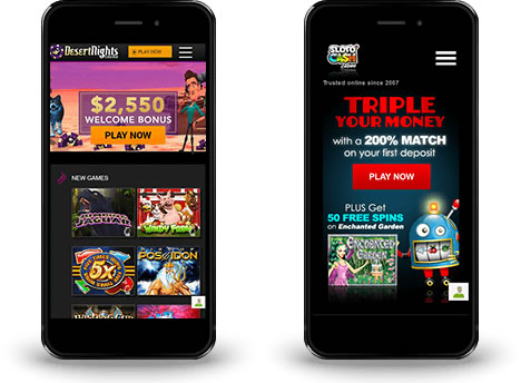 Mobile Slots at Mobile Casinos