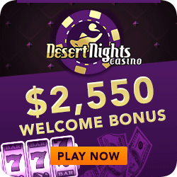 Click here to play at Desert Nights Casino