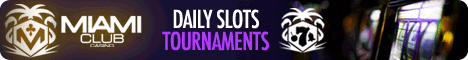 Play slots tournaments online at Miammi Club Casino