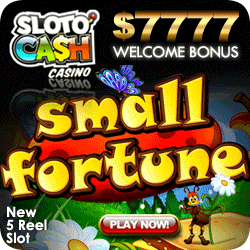 Sloto'Cash Casino - Hot bonuses - Hot Slots - Safe with YOUR bankroll!