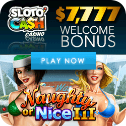 Play Naughty or Nice 3 Video Slot at Sloto'Cash Casino