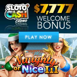 Play Naughty or Nice 3 Video Slot at Sloto'Cash Casino