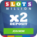 Slots Million Casino has over 2000 slot machines plus you can play nearly half of them on your mobile!