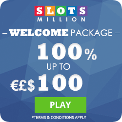 SlotsMillion Casino Has thousands of games, many software providors, a great reputation, and generous bonuses. A Casino just for you to enjoy your slots!