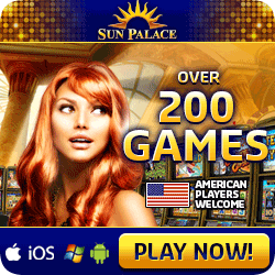 Sun Palace Casino - RTG Gaming, Real Series Video Slots - Generous Bonuses!