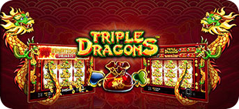 Play Triple Dragons Slot Machine at Black Diamond Casino