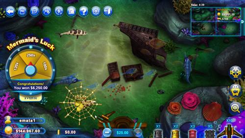 Fish Catch Game Screen