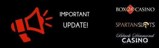 Update from casinos for all