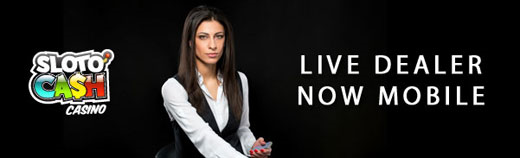 Live dealer available on mobile